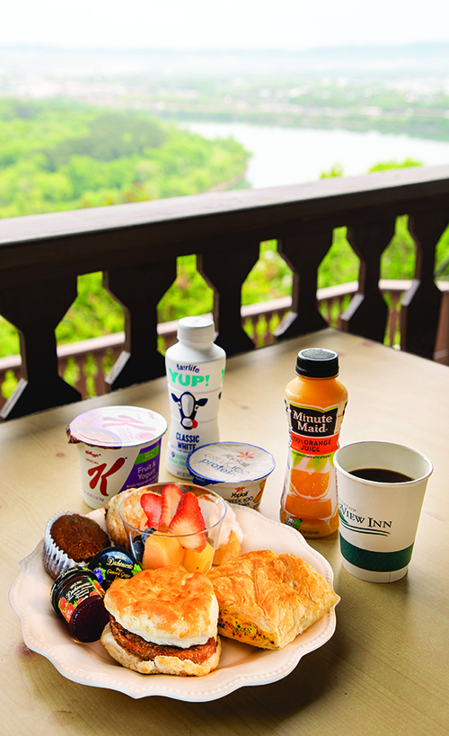 RiverView Inn Breakfast