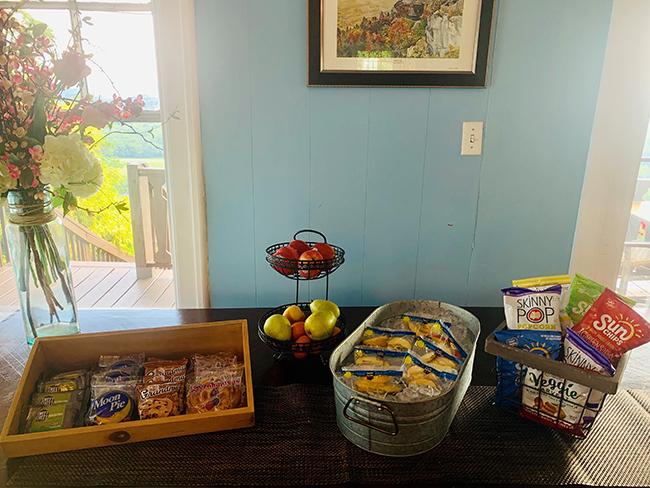 RiverView Inn snacks